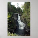 Raymondskill Falls in the Poconos. print 0283-1