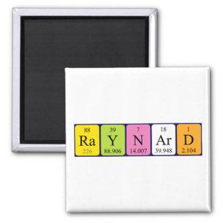Raynard periodic table name magnet