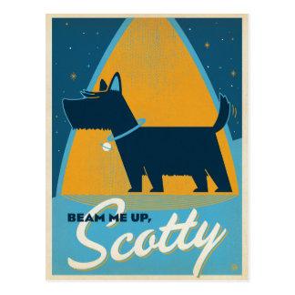 Rayonnez-moi vers le haut de Scotty Carte Postale