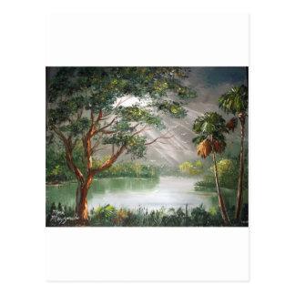 Rayons de Sun dans les tropiques Cartes Postales