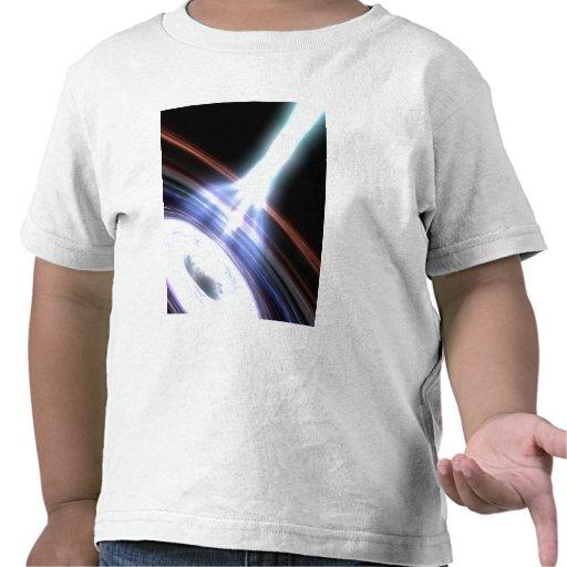 Rayons gamma aux noyaux galactiques 2 t-shirts