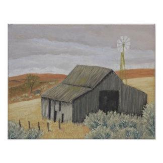 Ray's Barn Print