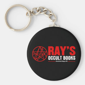 Ray's Occult Book Shop Basic Round Button Keychain