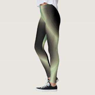 Rays of Green Light Leggings