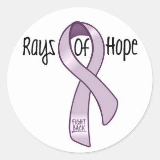 Rays Of Hope Classic Round Sticker