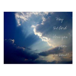'Rays of Hope' photo postcard