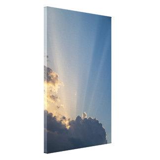 Rays of Light / Valonsäteet Canvas Print