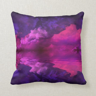 Rays of Reflection Throw Pillow