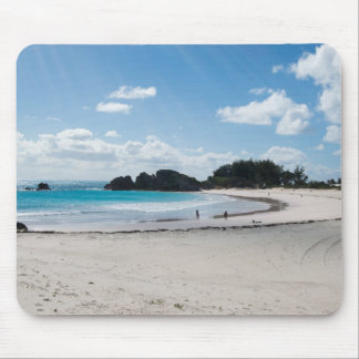 Rays of Sun Over Beach Mouse Pad