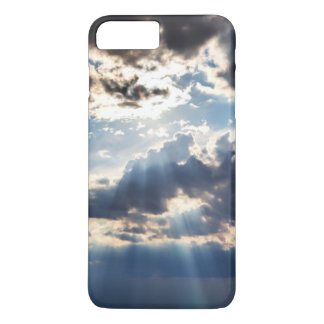 Rays of sunshine from above iPhone 7 plus case
