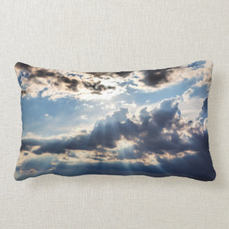 Rays of sunshine from above lumbar pillow