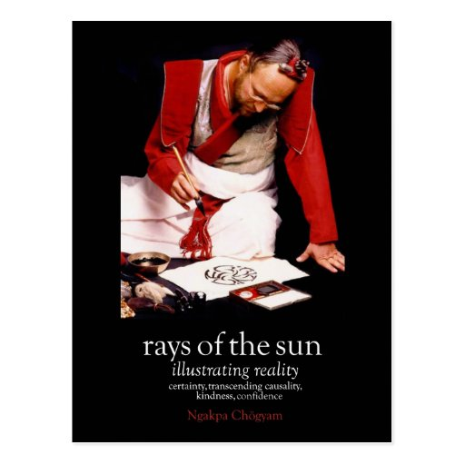 Rays of the Sun Publicity [postcard]