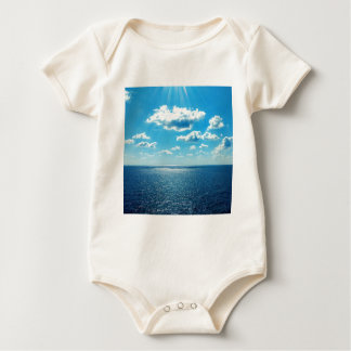 Rays over the Sea Baby Bodysuit