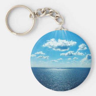 Rays over the Sea Keychain