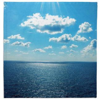 Rays over the Sea Napkin