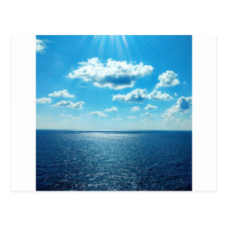 Rays over the Sea Postcard