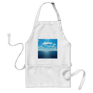 Rays over the Sea Standard Apron
