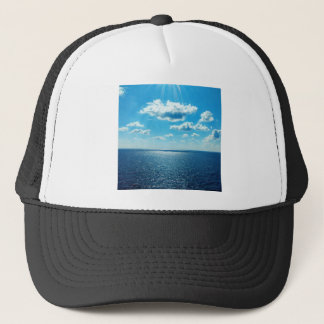 Rays over the Sea Trucker Hat