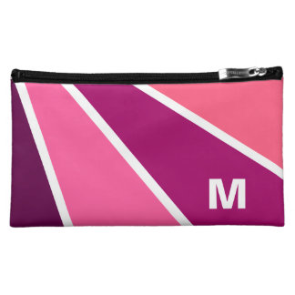 Rays Pattern custom monogram accessory bags