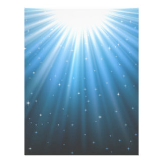 Rays Sun beam inspirational Letterhead