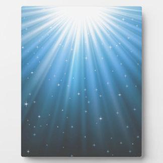 Rays Sun beam inspirational Plaque