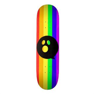 Rayshine GHOST™ Rainbow Stripe Skateboard