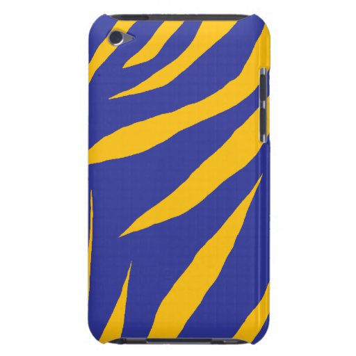 Rayures animales oranges coque iPod touch