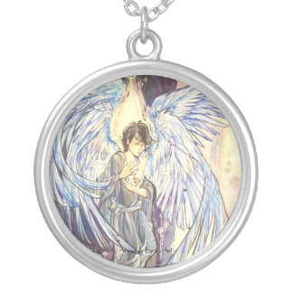 Raziel Silver Plated Necklace