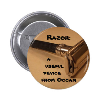 Razor: a useful device from Occam 2 Inch Round Button