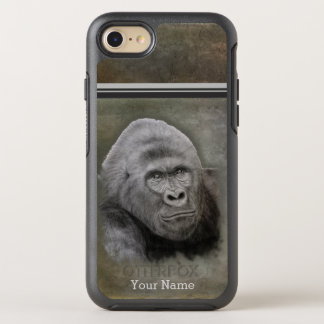 Razorback Gorilla with Name OtterBox Symmetry iPhone 8/7 Case
