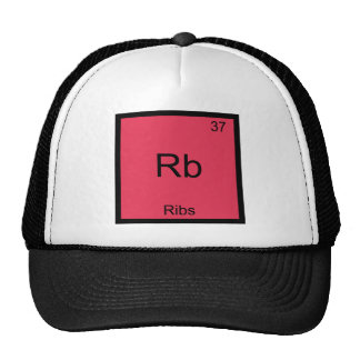 Rb - Ribs Chemistry Element Symbol Funny Trucker Hat