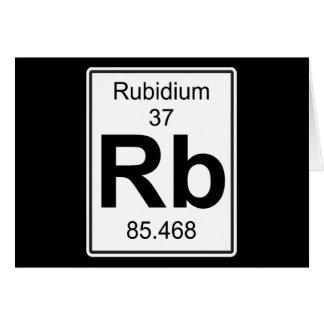 Rb - Rubidium Card