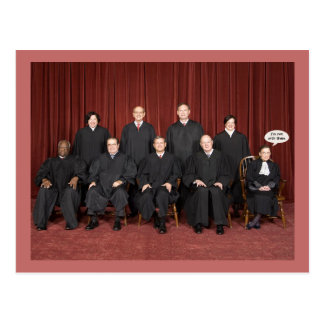 RBG Not With Them Postcard