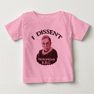 RBG notoire - p T-shirt Pour Bébé
