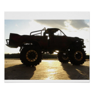 RC ADVENTURES - Top Gear Toyota Hilux Poster