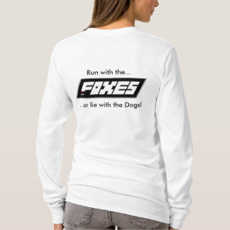 RC Foxes Ladies Run with the Foxes Hoodie