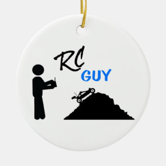RC Guy Ceramic Ornament