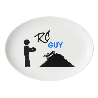 RC Guy Porcelain Serving Platter
