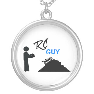 RC Guy Silver Plated Necklace