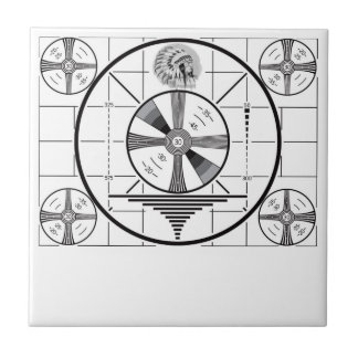 RCA Indian Head Test Pattern Tile