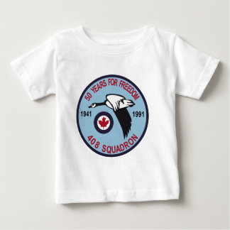 RCAF Patch 408 Squadron Escadron 50 Years Royal Ca Tee Shirts