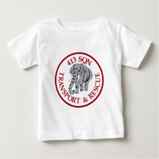 RCAF Patch Royal Canadian Air Force 413 Transporta Baby T-Shirt