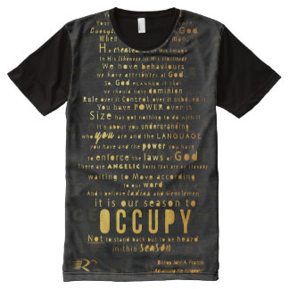 RCC OCCUPY GOLD PRINT All-Over-Print T-Shirt