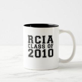RCIA Class of 2010 Two-Tone Coffee Mug