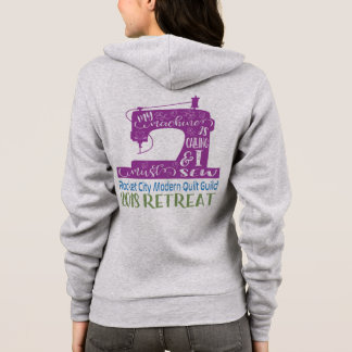 RCMQG 2018 Retreat Women's Hoodie