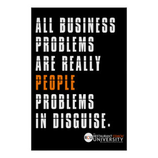 RCU Business Problems Poster