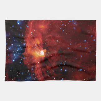 RCW 108 Star Forming Region - Hubble Space Photo Kitchen Towel