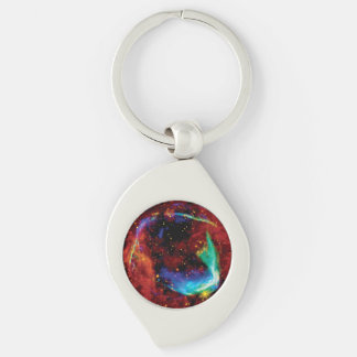 RCW 86 Supernova Remnant - NASA Hubble Space Photo Keychain