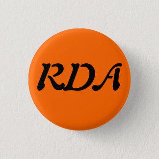 RDA Forum 1 Inch Round Button