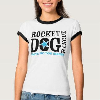 """RDR """"Leave No Dog Behind"""" (blk/blue) T-Shirt"""